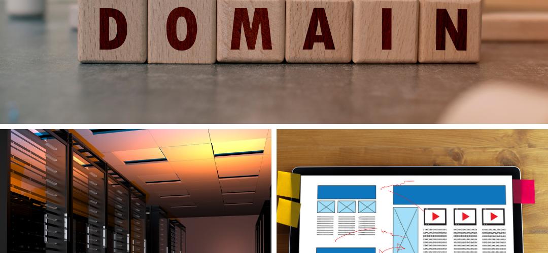 Domains Vs Web Hosting Vs Website